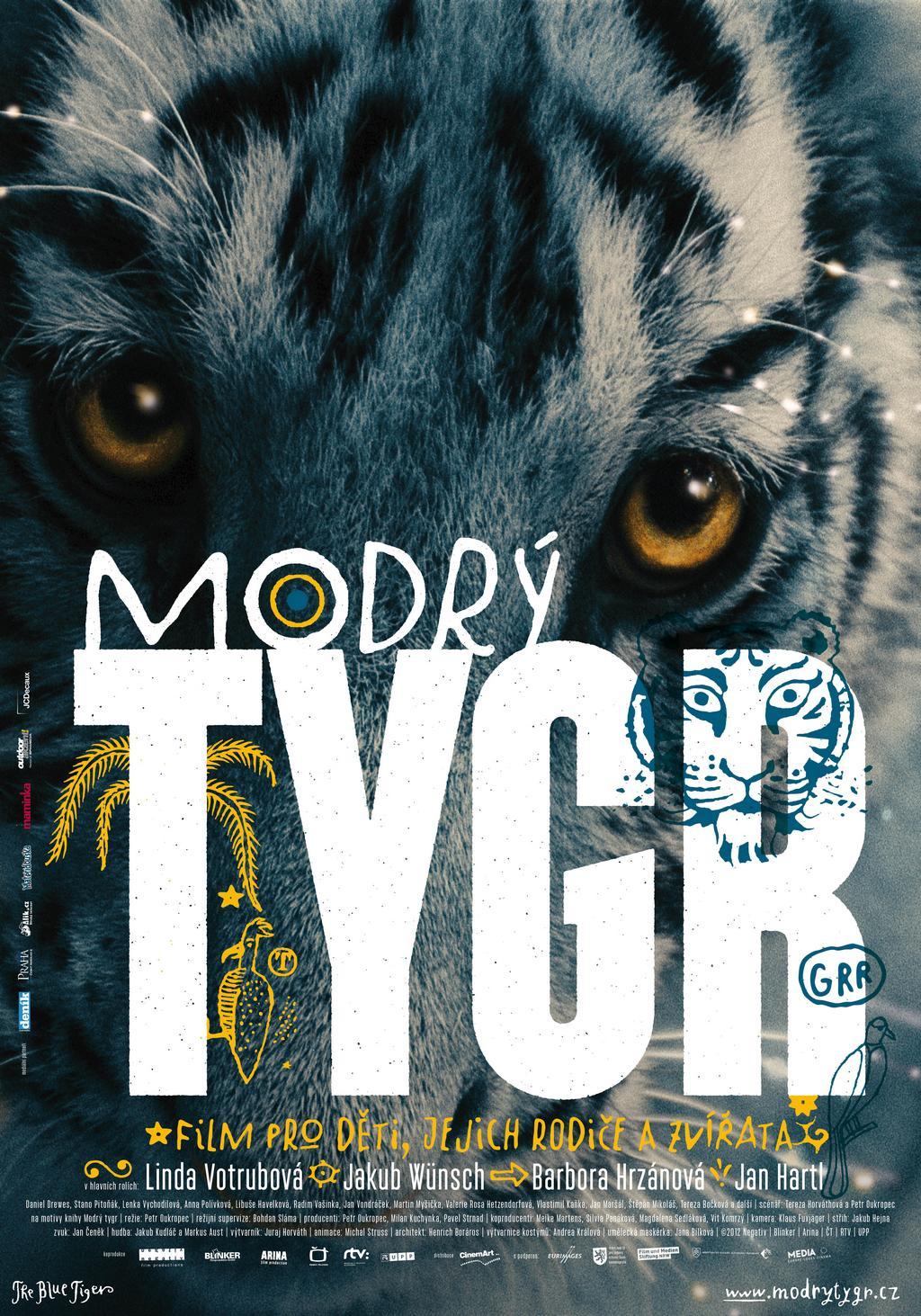 Plakát k filmu Modrý tygr