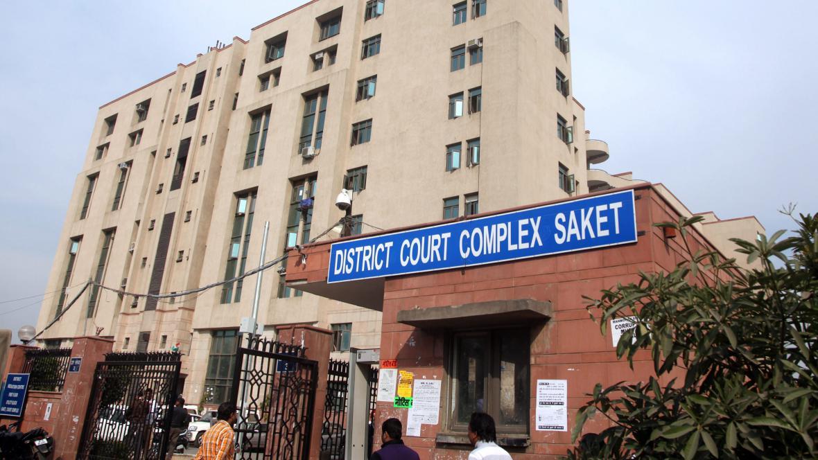 Budova, kde se koná soud s pěticí Indů