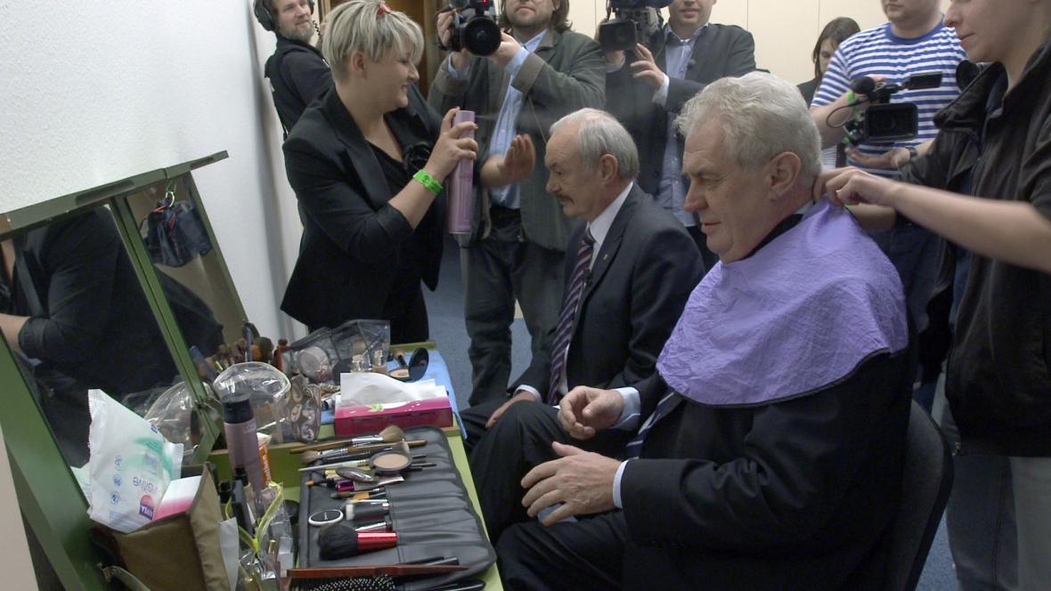 Přemysl Sobotka, Miloš Zeman