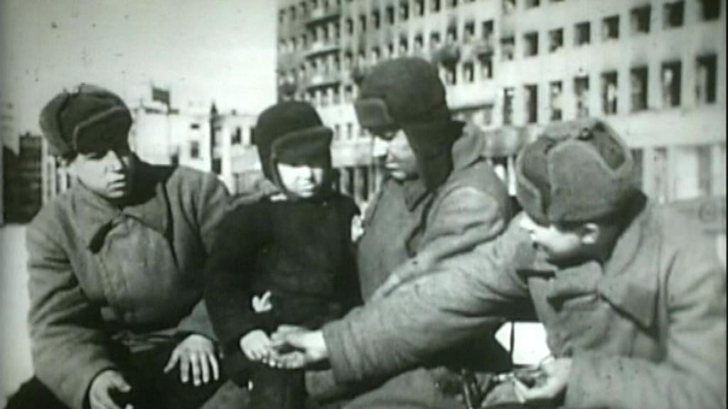 Vojáci v Charkově