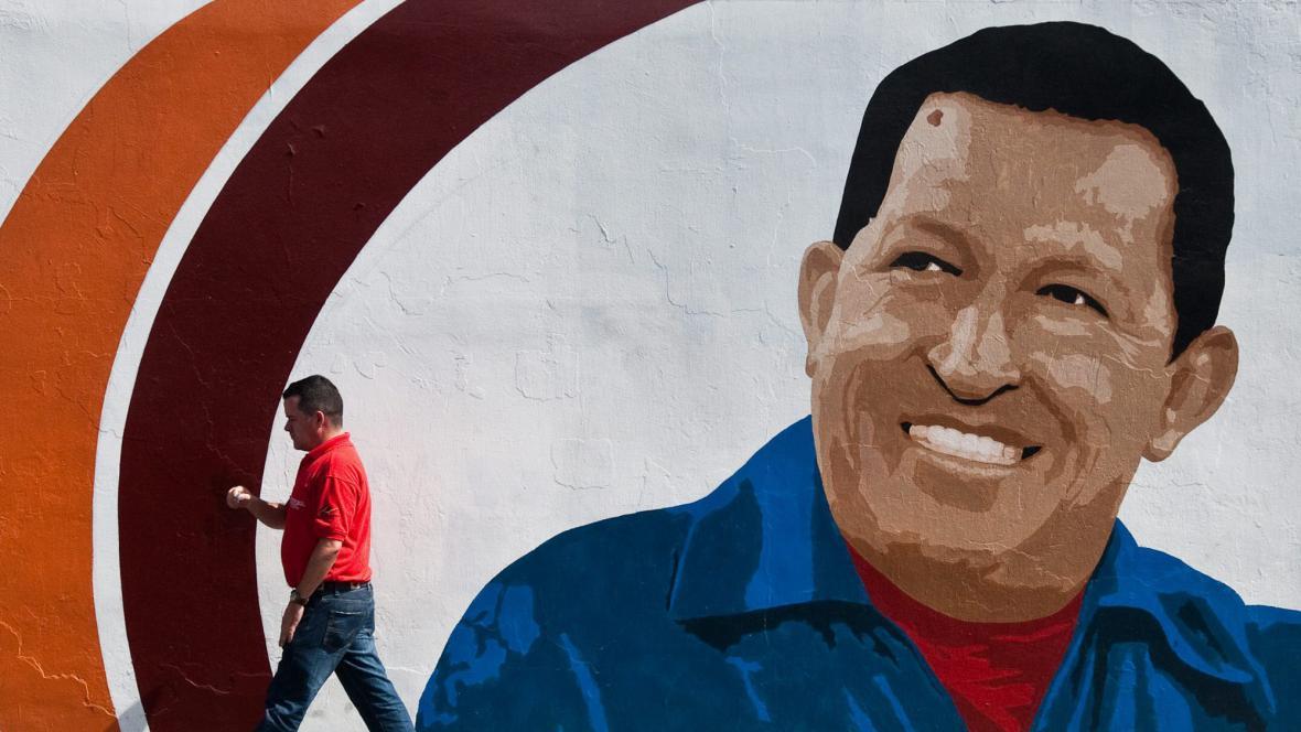 Portrét Huga Cháveze