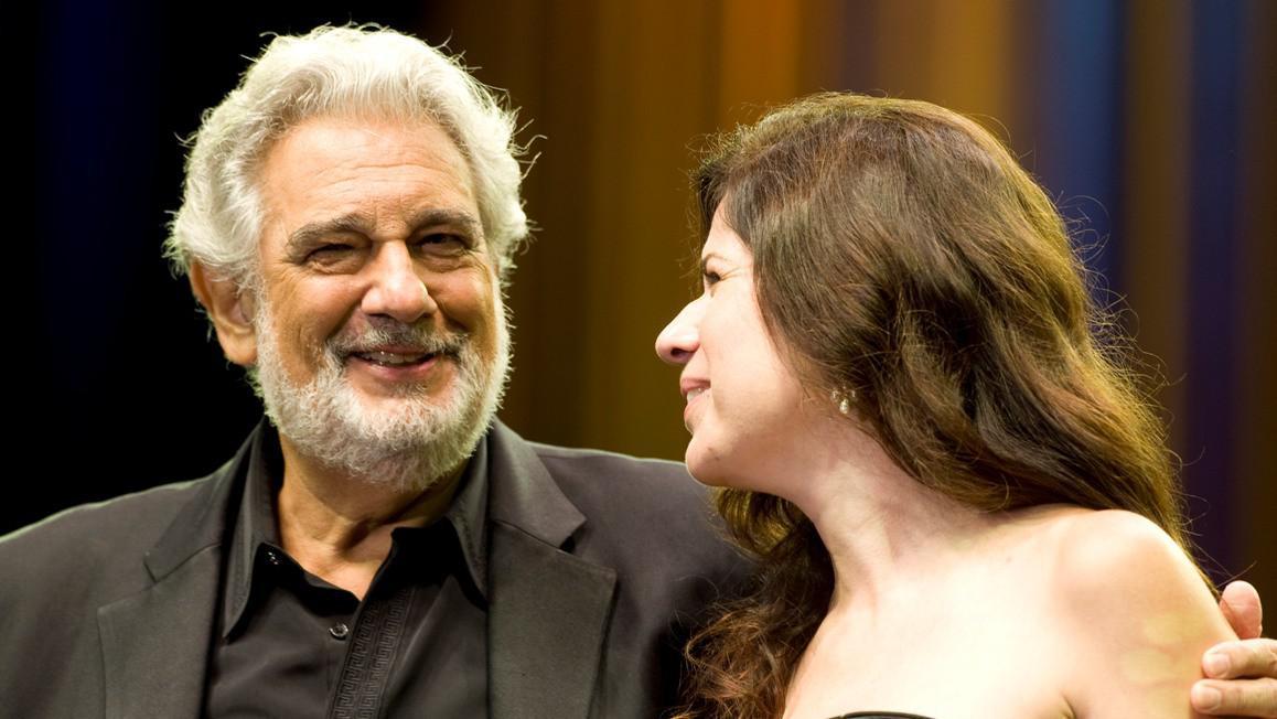 Plácido Domingo s Anou Maríi Martínezovou