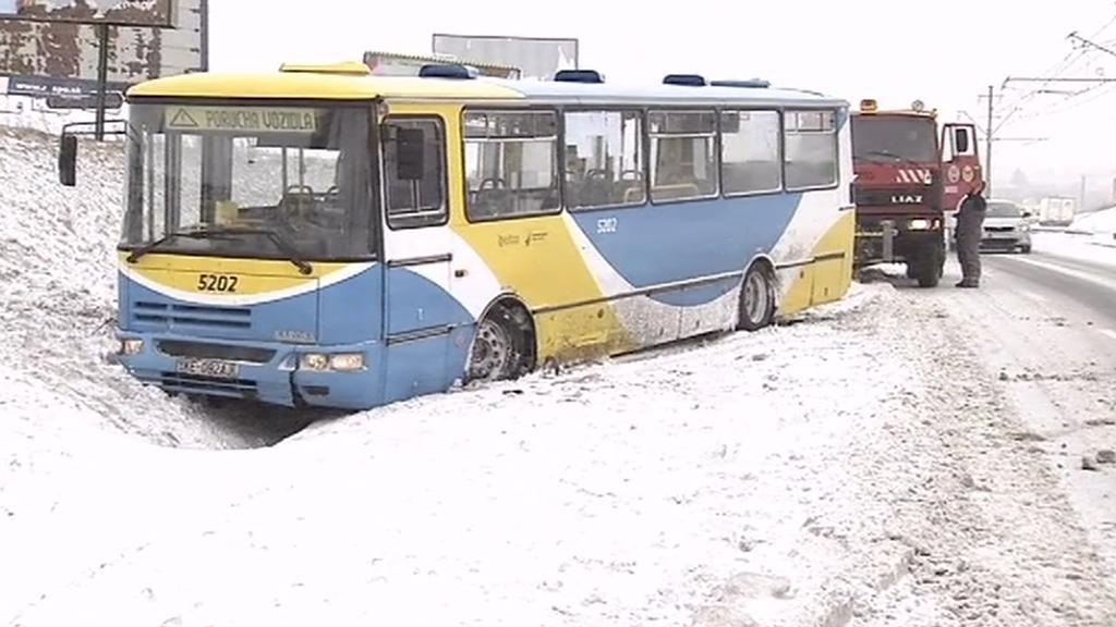 Sněhová kalamita na Slovensku