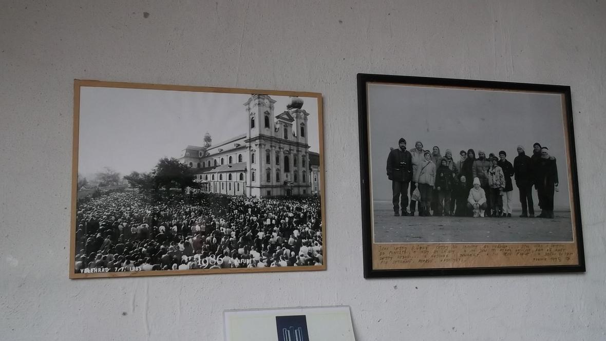 Vzpomínky ve fotografiích v ateliéru Otmara Olivy