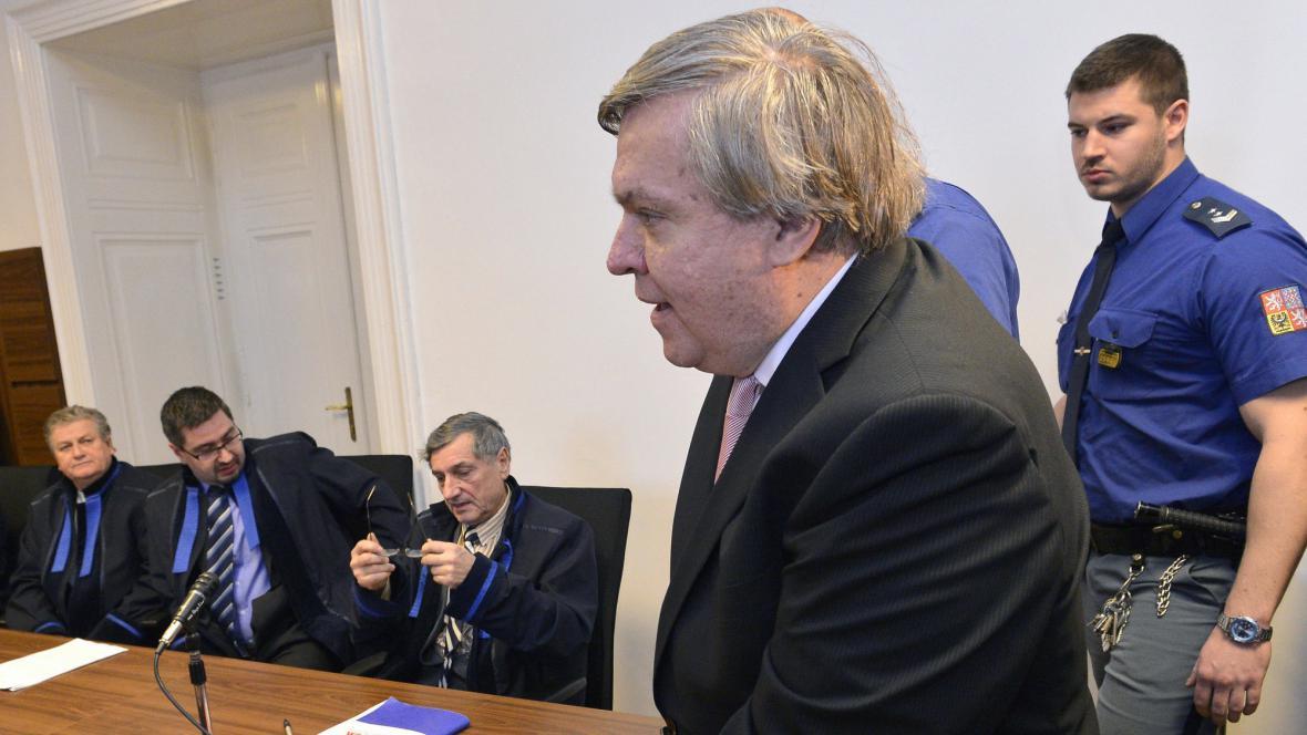 Jaroslav Barták u soudu