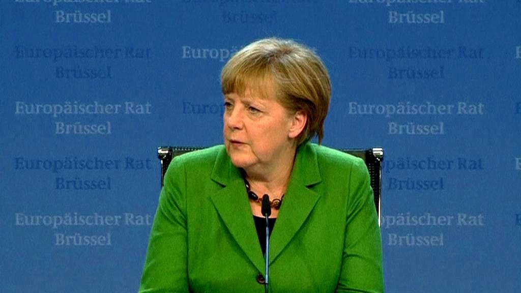 Summit EU - Angela Merkelová