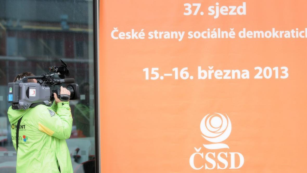 37. sjezd ČSSD - den první