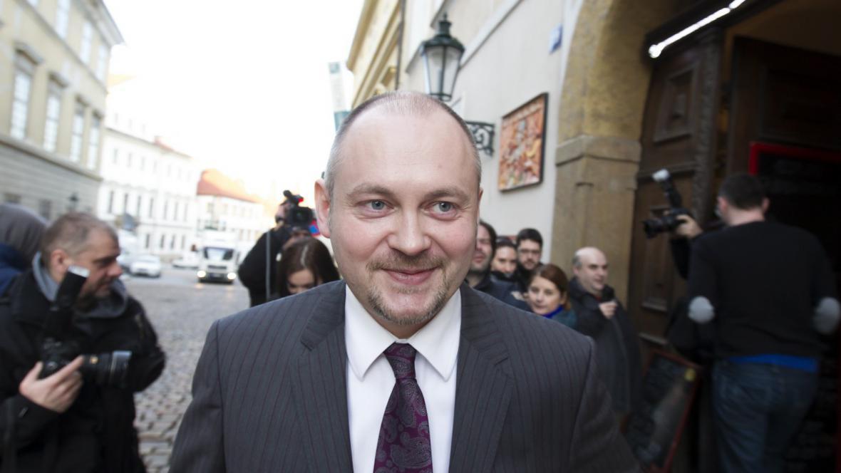 Místopředseda ČSSD Michal Hašek