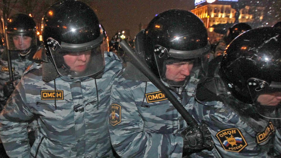 Ruské jednotky OMON