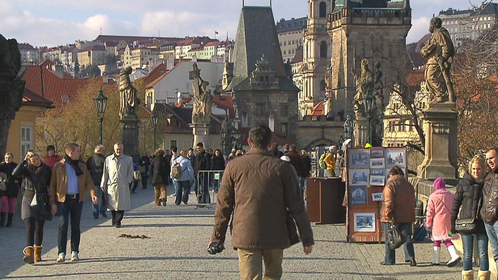 Turisté v Česku