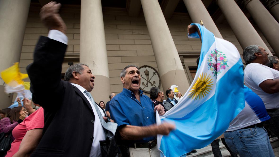 Argentina slaví zvolení