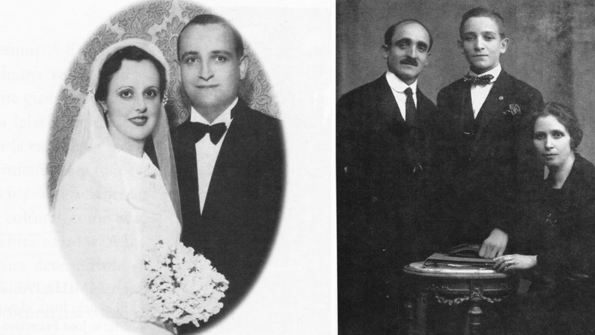 Rodiče a prarodiče Jorgeho Maria Bergoglia