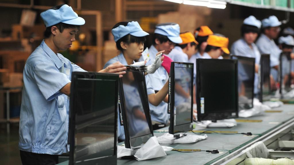 Čínská továrna