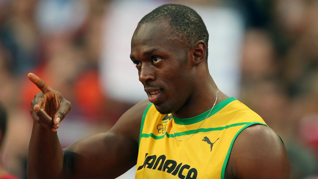 Obhájce olympijského zlata Usain Bolt