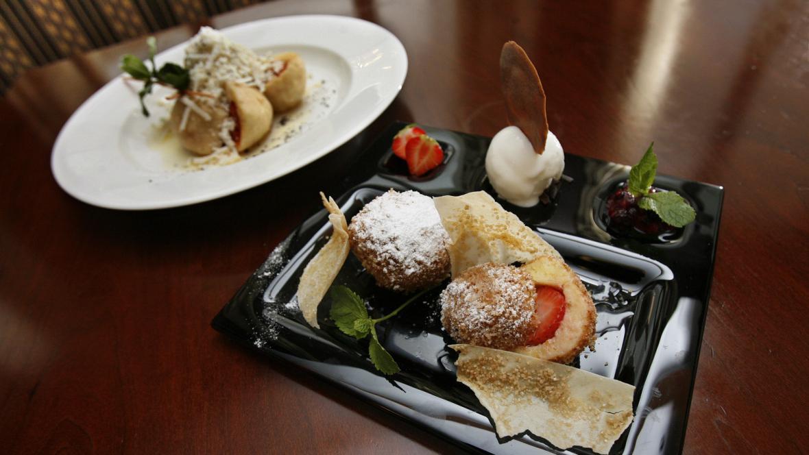 Restaurace Alcron v hotelu Radisson