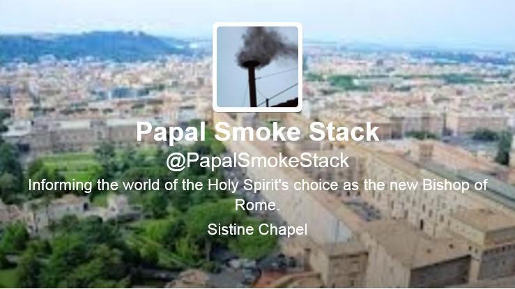 Komín Sixtinské kaple