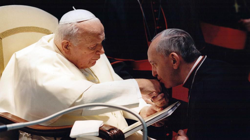 Bergoglio s Janem Pavlem II.