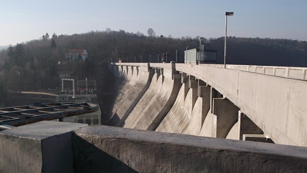 Hráz přehrady zůstane pro turisty uzavřená