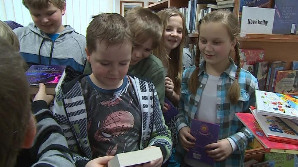 Mezi dětmi byl o knihy velký zájem