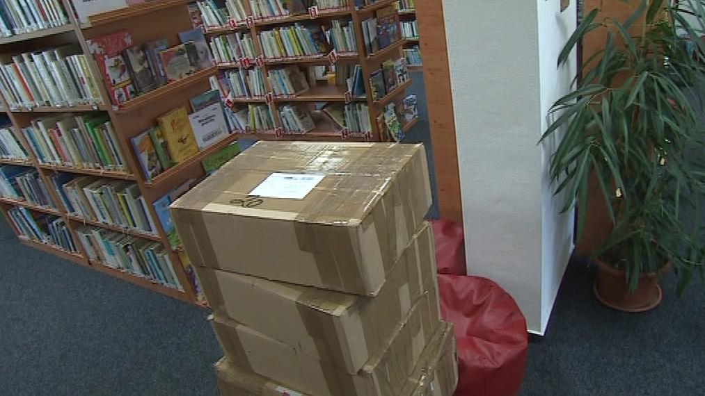 Vedení Olešnice nakoupilo knihy za sto tisíc