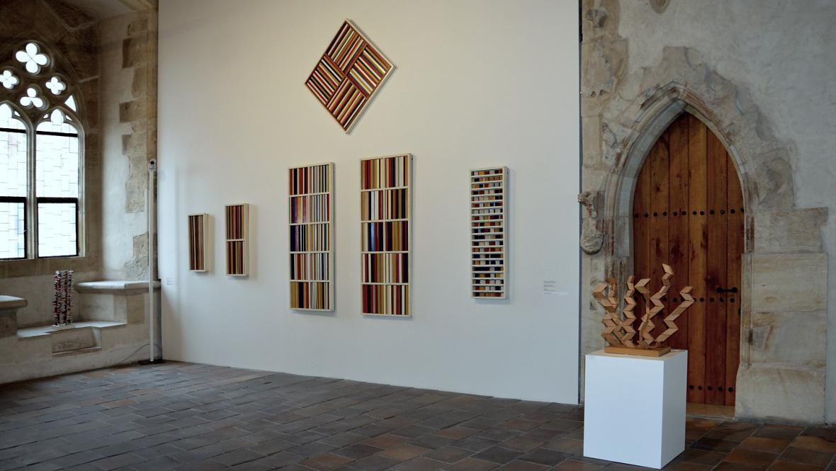 Radek Kratina / pohled do expozice