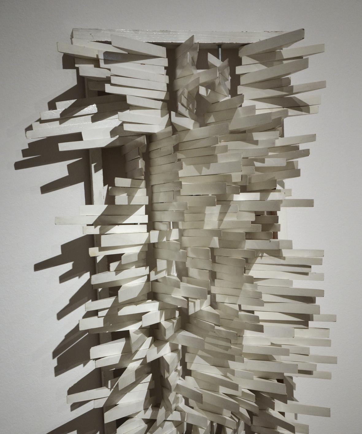 Radek Kratina / Velká bílá struktura, 1969 (soukromá sbírka)