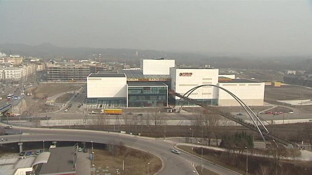 Obchodní komplex Nová Karolina v centru Ostravy