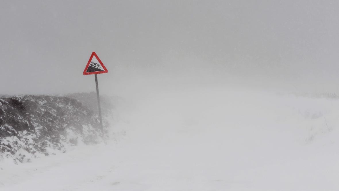 Zima v Yorkshiru