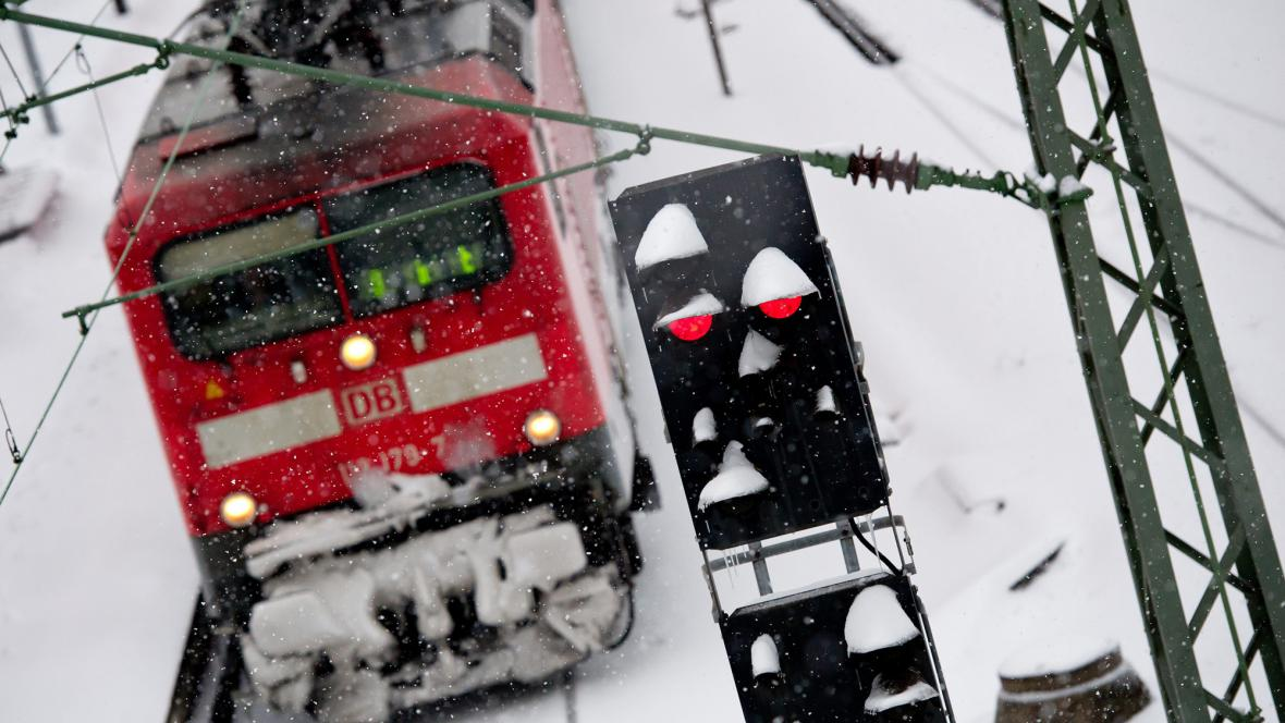 Zima v Německu