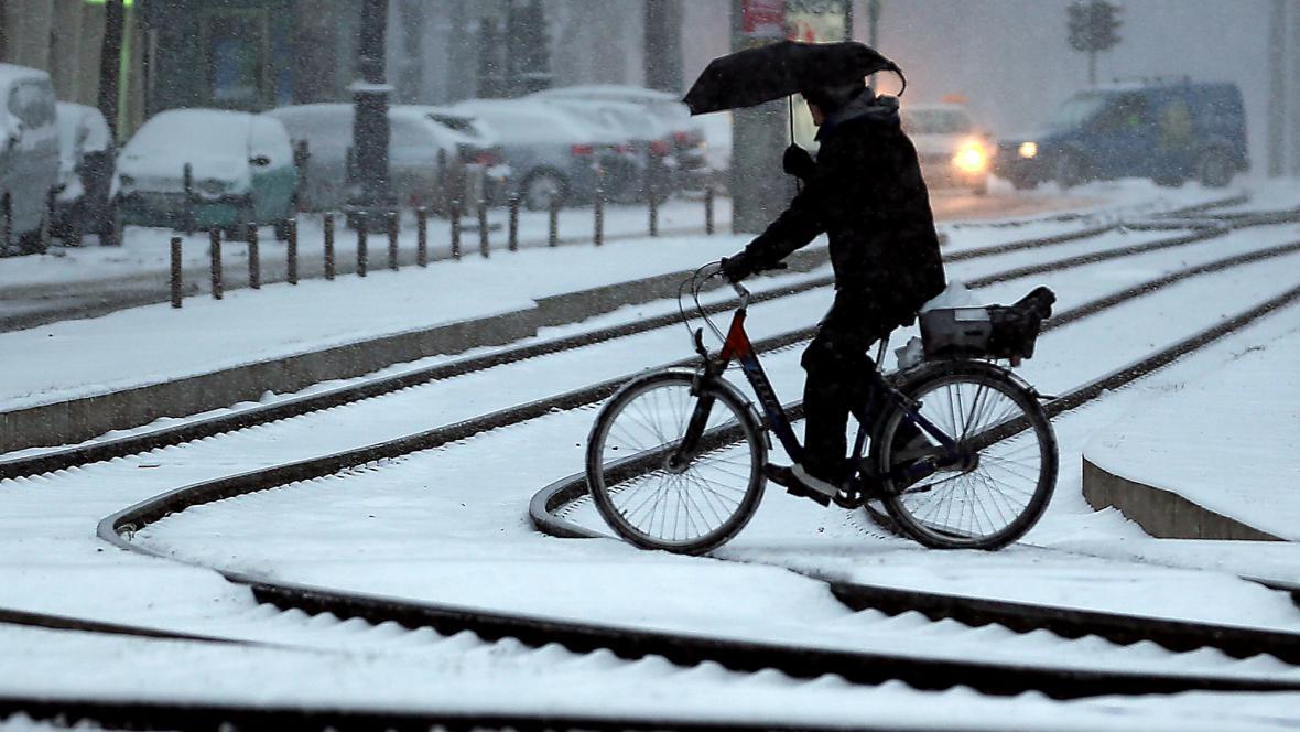 Zima v Kolíně nad Rýnem