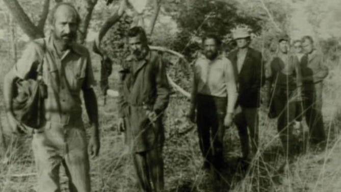 Fotografie unesených Čechoslováků v Angole