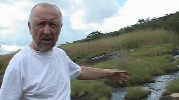 Lubomír Sazeček při návratu do Angoly