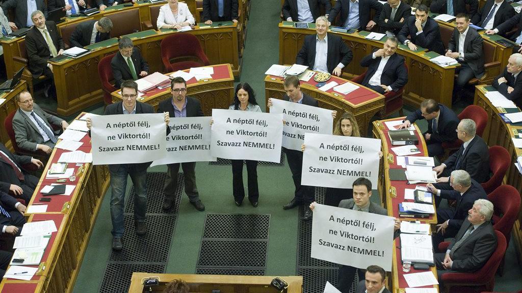 Opoziční blokáda