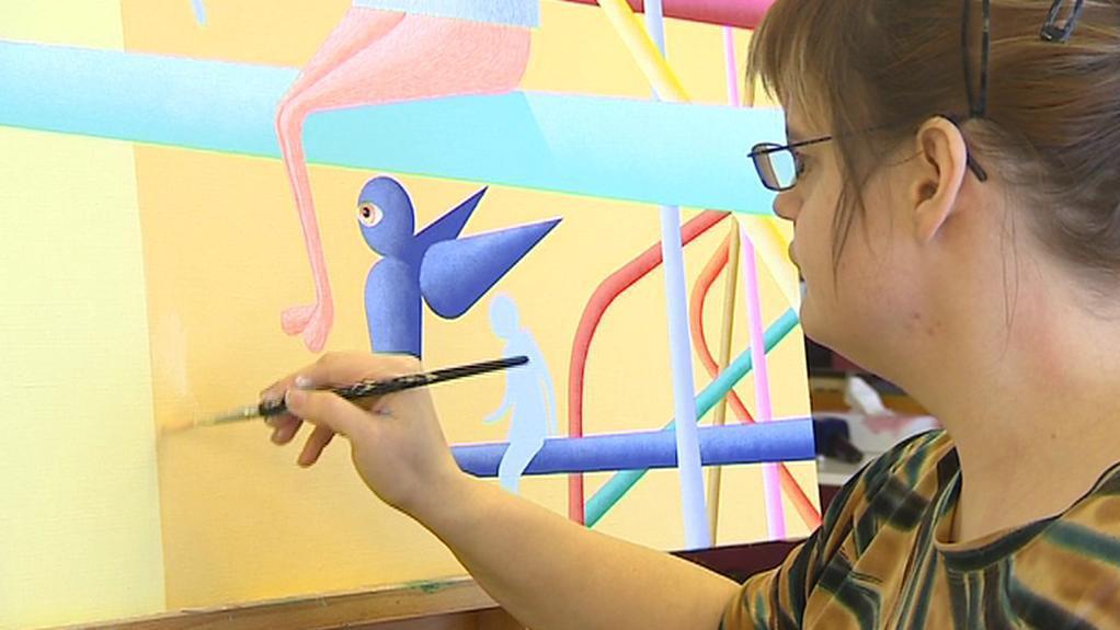 Umělecká tvorba klienty odvádí od problémů