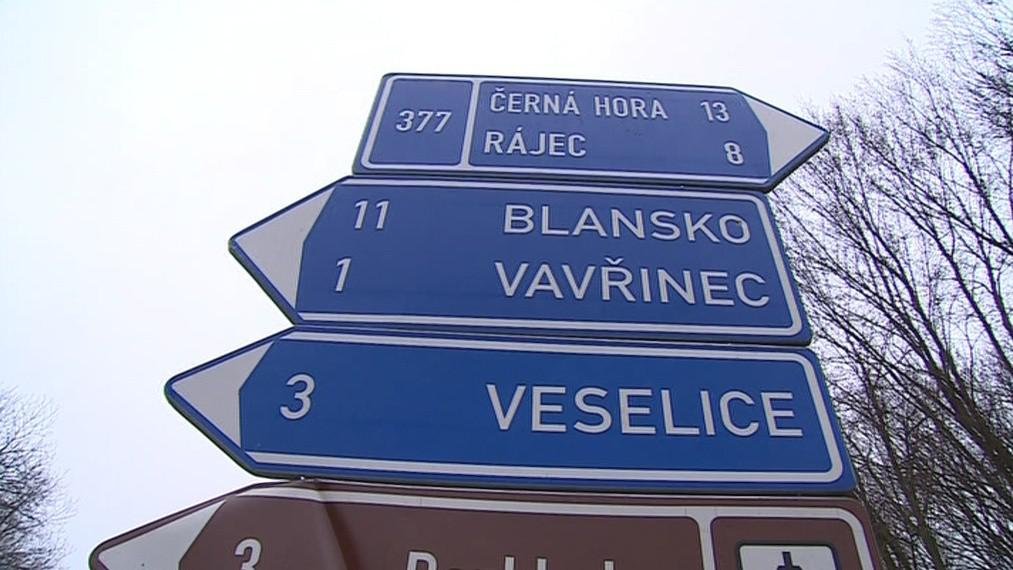 Na Blanensku nedávno zmizela dvacítka dopravních značek