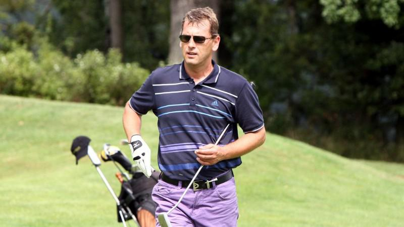 Ve volném čase Aleš Zbořil rád hraje golf