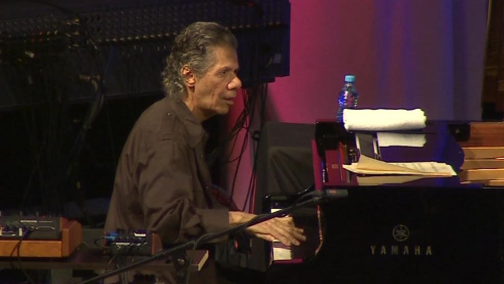 Americký jazzový pianista Chick Corea koncertoval v Brně