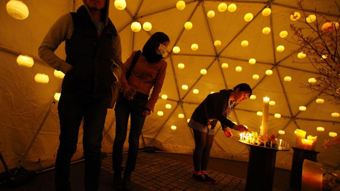 Japonsko si připomíná výročí neštěstí ve Fukušimě