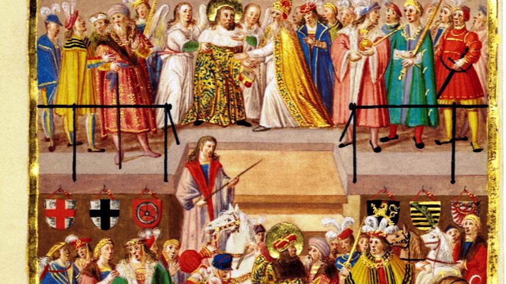 Iluminace svatého Václava od Matyáše Hutského