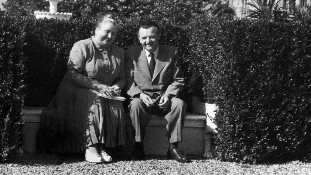Marta a Klement Gottwaldovi