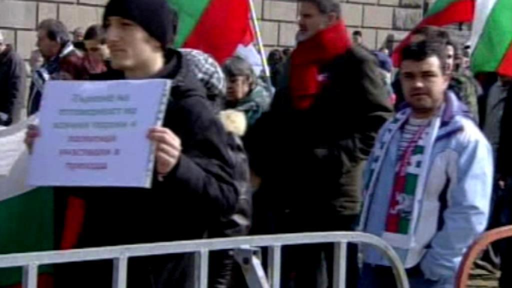 Protesty v Bulharsku