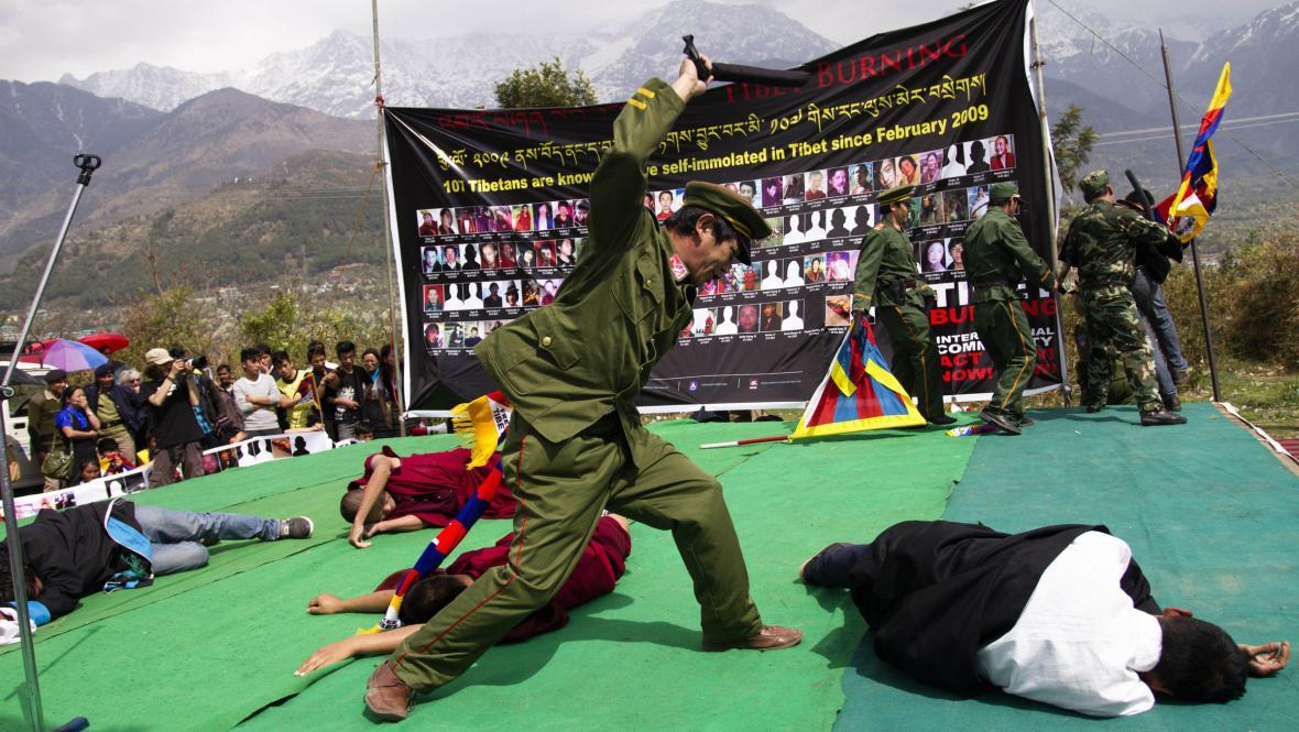 Den pro Tibet slavili i v exilovém sídle dalajlámy - Dharamsale