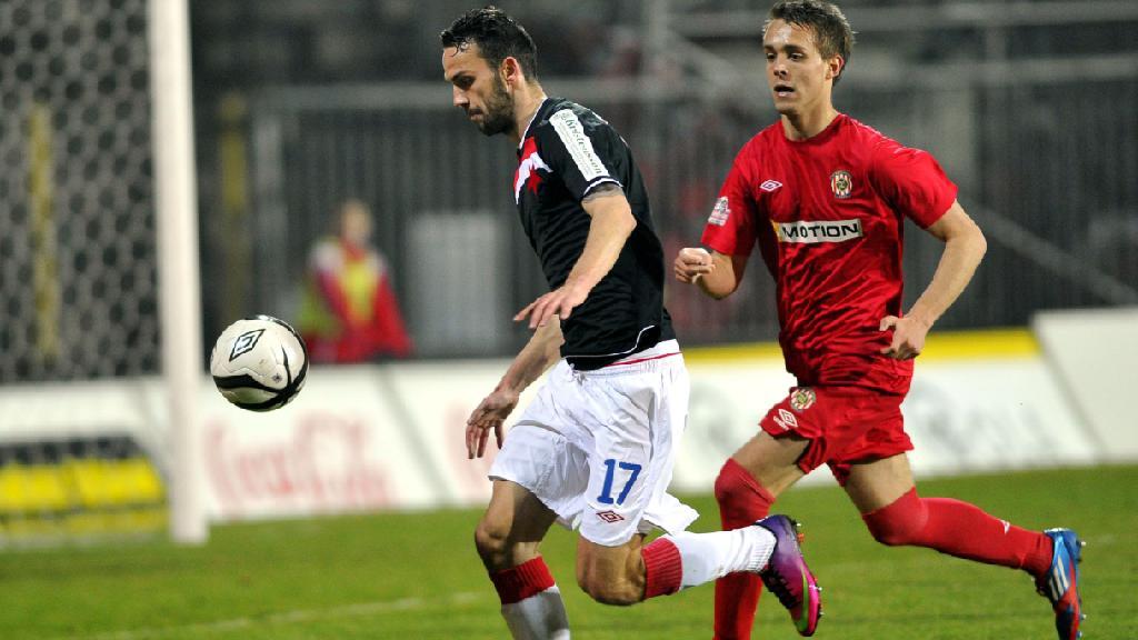Utkání Zbrojovka Brno - Slavia Praha