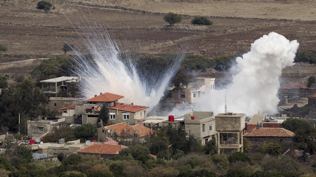 Ostřelování Golanských výšin