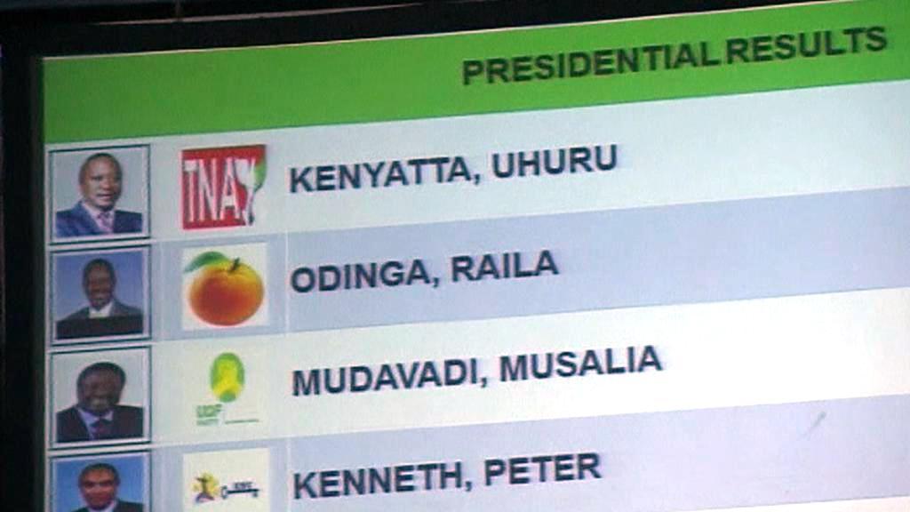 Prezidentské volby v Keni - výsledky