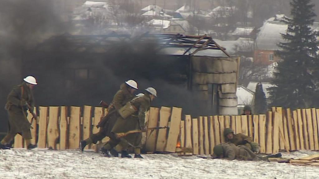 Rekonstrukce bitvy u Sokolova