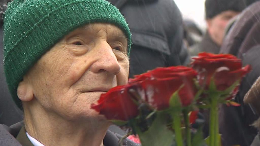 Pamětník bitvy u Sokolova Antonín Bukový
