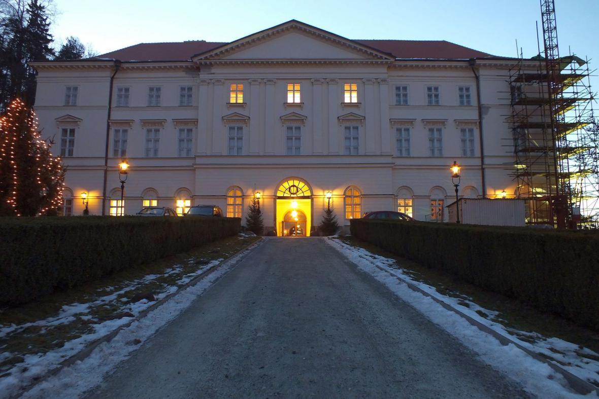 Empírový zámek v Boskovicích