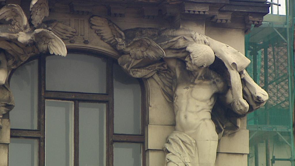 Výzdoba Fantovy budovy