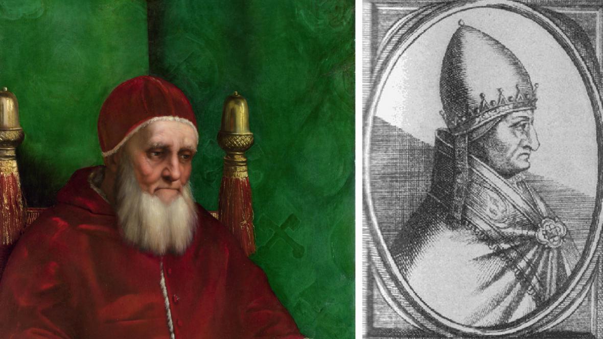 Julius II. a Řehoř X.